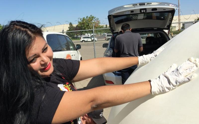 Rachael Navarrete brings CanSat to Stockton