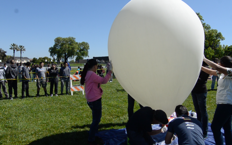 Lodi School District High Altitude Balloon Launch
