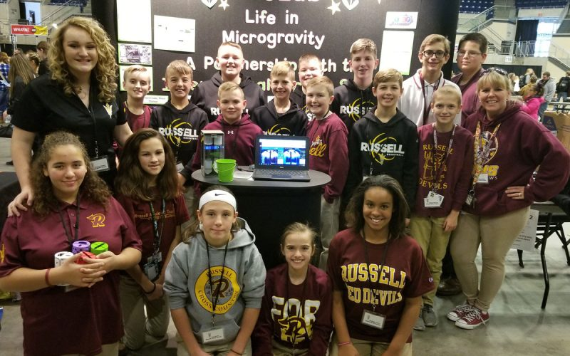 Russell Independent School in Kentucky is going to the STLP State Final with their ExoLab and CanSat