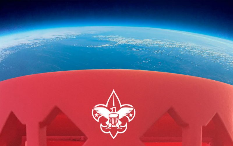 High Altitude Balloon at the Boy Scouts National Jamboree