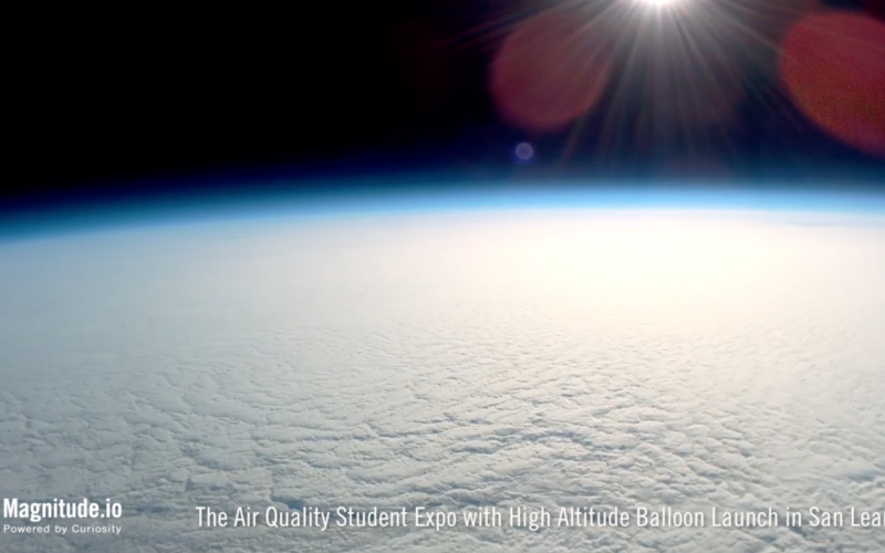 BAAQMD: CanSat Air Quality Student Expo in San Leandro