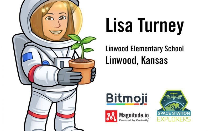 Kansas Teacher selected as the ExoLab-8 Astro_moji Mission Specialist